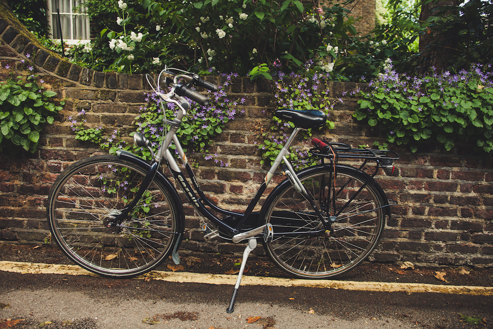 Cycling in south London
